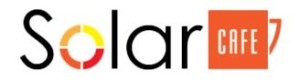 SOLAR CAFE logo